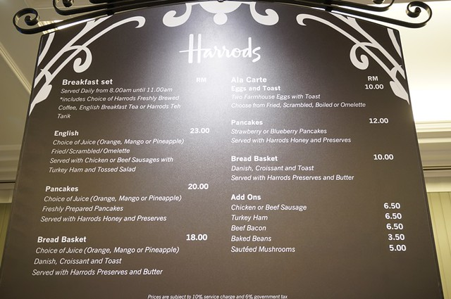 harrods cafe KLCC - tea, scones, sandwiches, cakes 1 (2)