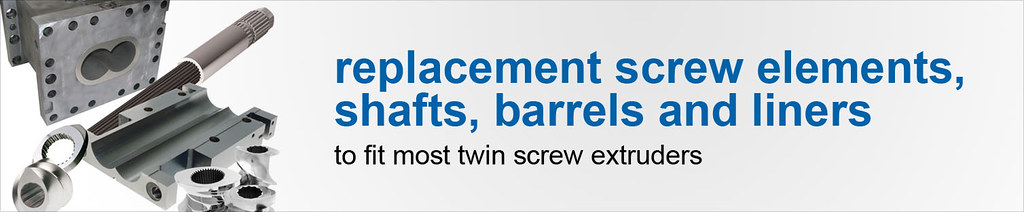 Rplacement Screw Elements, Barrels and liners