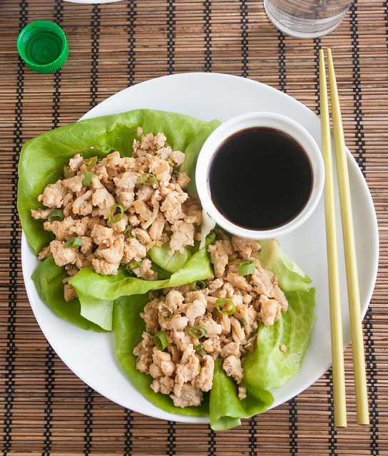 Asian Chicken Lettuce Wraps (PF Chang Copycat Recipe)