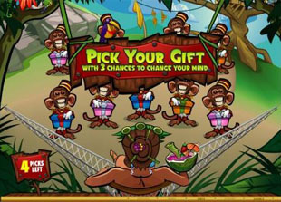Queen of the Jungle Bonus Game Prize