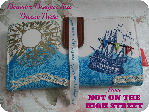 Disaster Designs Sea Breeze Purse