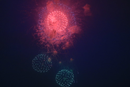 the 28th Kanagawa Shimbun Fireworks Festival 03