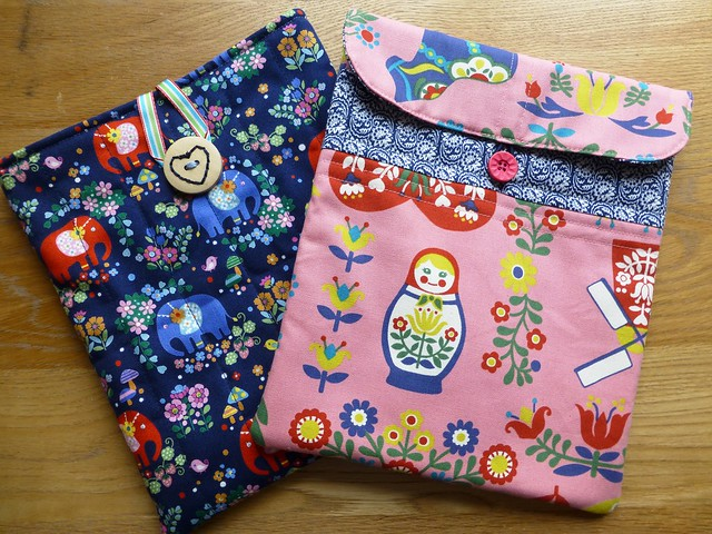 Fabric Yard Shop Samples - Ipad cases
