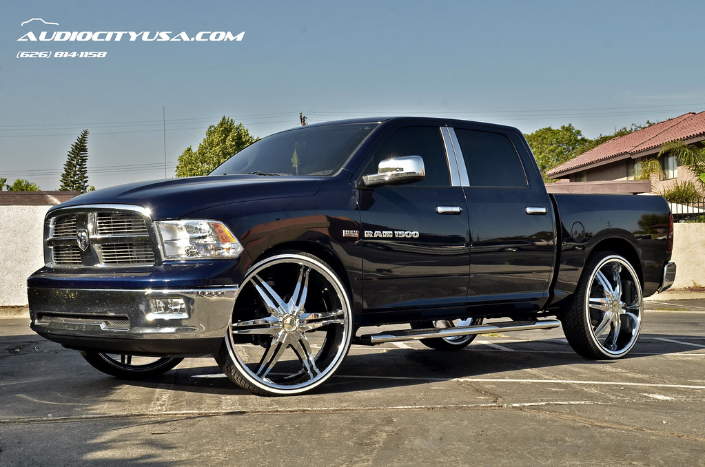 2013 Dodge Ram 1500 With Chrome Rims And Tires Html