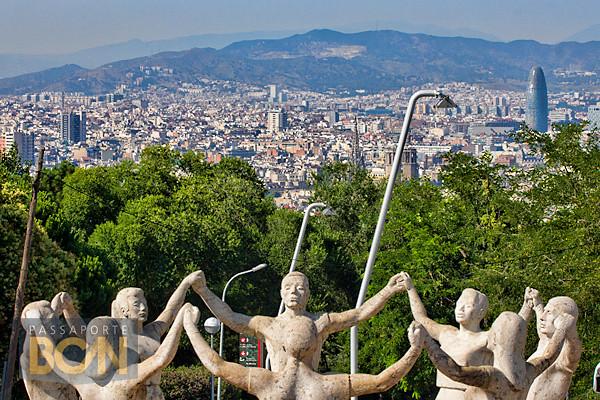 1 de janeiro em Barcelona