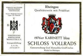 Schloss Vollrads 1976 (Rhine)