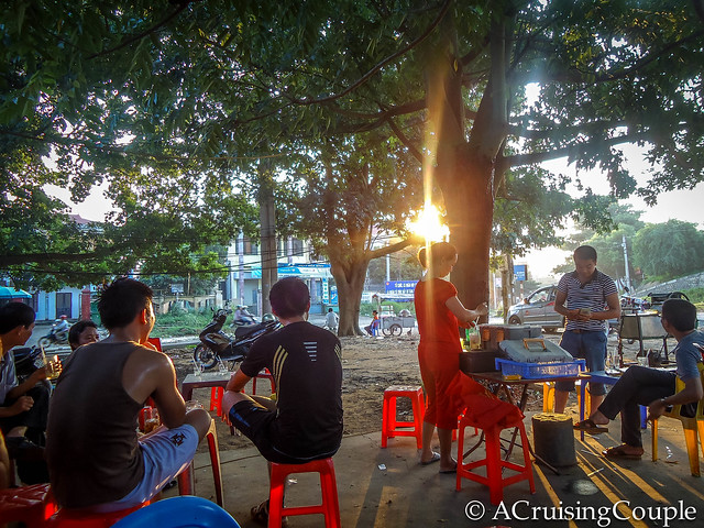 Vu Ban Vietnam Drink Stand