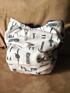 Tools medium fitted diaper