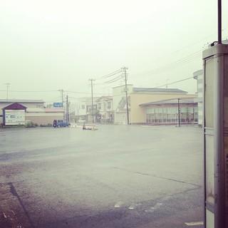 磐城棚倉駅前