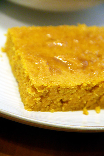 Honey-corn-bread
