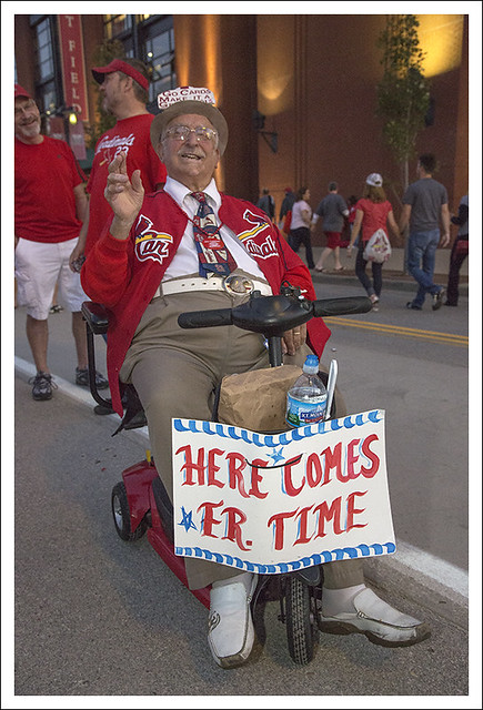 Cards-Dodgers 2013-10-11 2 (Father Time)