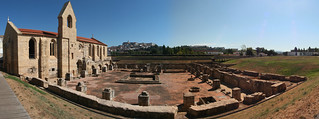 Image de Mosteiro de Santa Clara-a-Velha. panorama portugal church ruins gothic monastery coimbra gothique eglise kloster monastère overview ruines romaines françoisphilipp