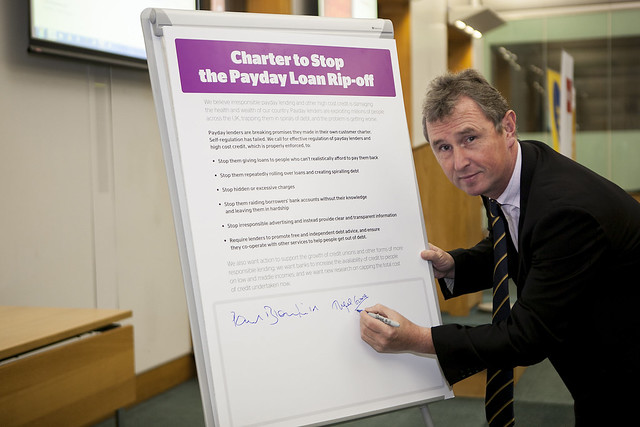 Paul Blomfield MP's credit charter