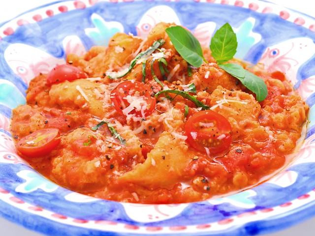 Pomodori Con Ricotta: Sugo Dukan