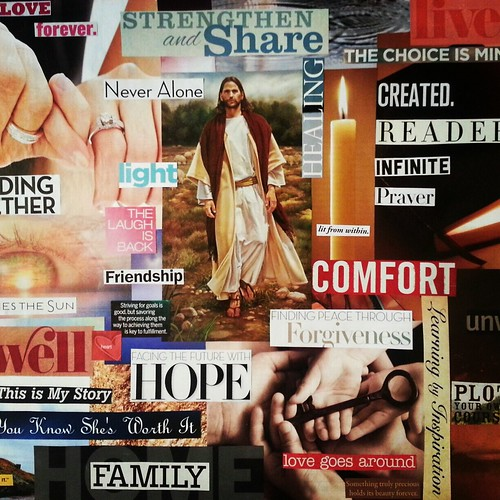 One Little Word 2013: Hope Collage
