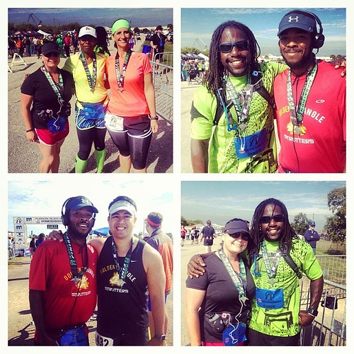 Good race with great friends! #halfmarathon #runchat #running