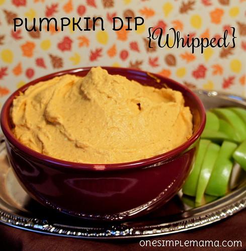 Pumpkin Dip {Whipped}