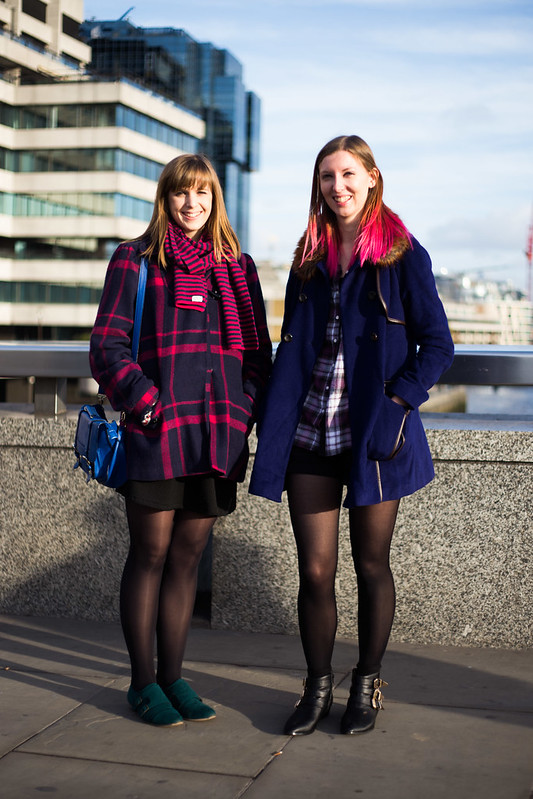 Street Style - Roz & Sara, London Bridge