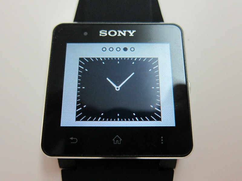 Sony SmartWatch 2 - Watch Face #4