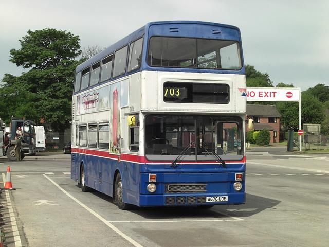 Former West Midlands Metrobus 2676