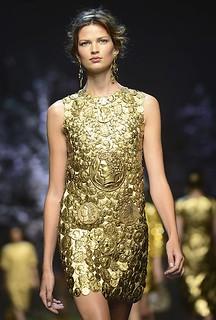 Dolce & Gabbana's centurion dress