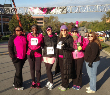 Corizon employees raise funds for Susan G. Komen Race for the Cure