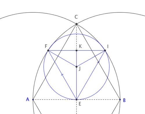 Construct Circle EX Euclid Prop 1