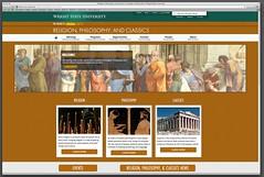 The Department of Religion, Philosophy, & Classics