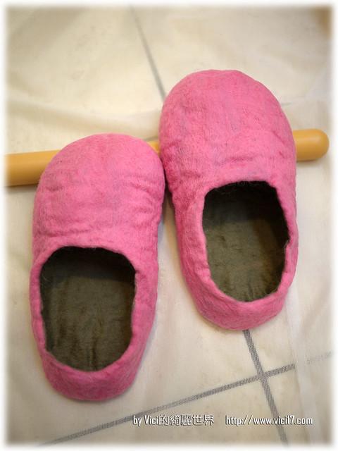 1217羊毛氈室內鞋050