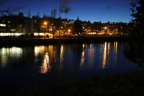 Ship Canal Reflection by Seattle Daily Photo
