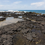 Lava rocks at Po'ipu Beach