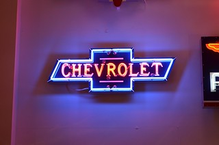 Chevy Badge Neon