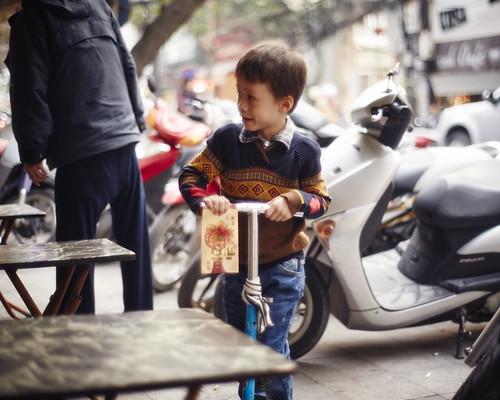 Hanoi boy.