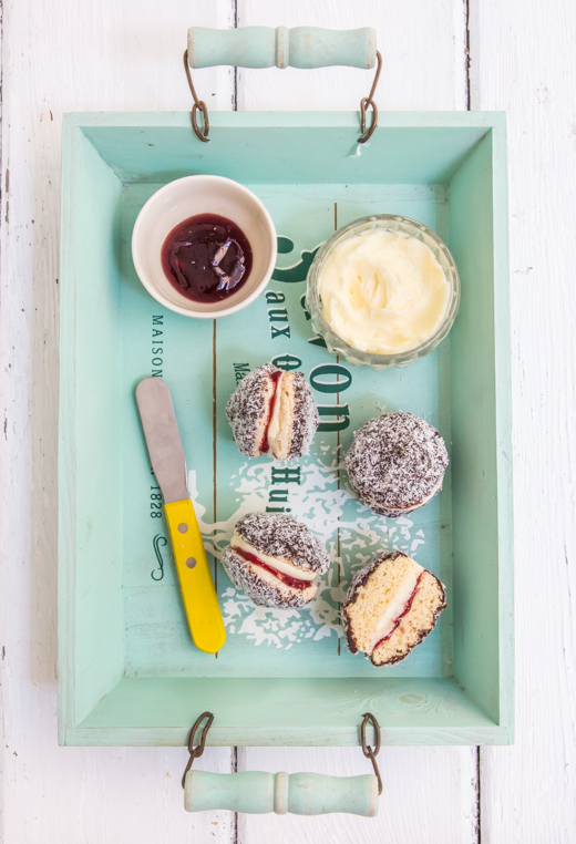 Lamington Biscuits