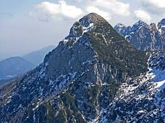 Foto per 16. La Cima Alta, del Due Pizzi, vista dal Cuel dei Pez