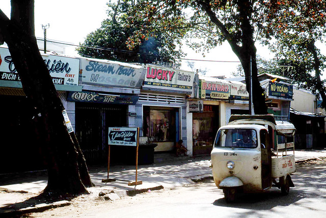 Vung Tau 1968 - Street of bars