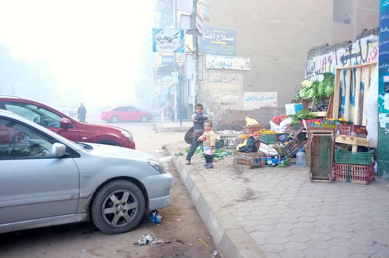 Mansoura Foggy