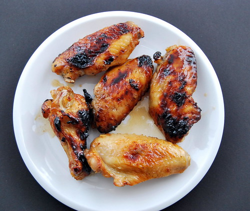 Caribbean Rum Baked Chicken Wings-001