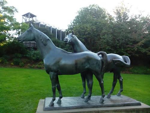 Pferdeskulptur Gruga-Park