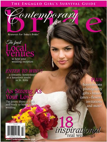 Bridal Styles in the Spring 2014 Issue of Contemporary Bride Magazine