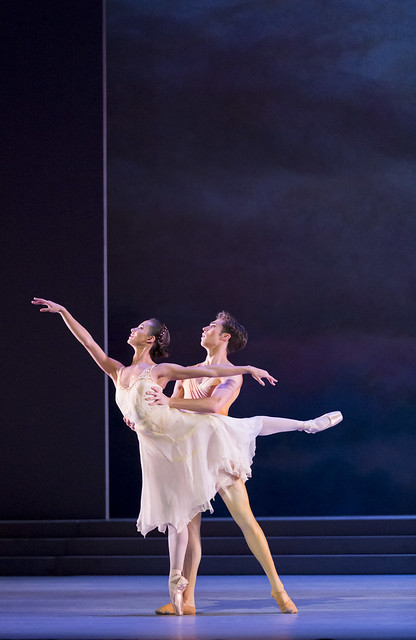 Francesca Hayward, James Hay in Rhapsody, The Royal Ballet © ROH / Johan Persson, 2014