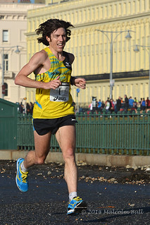 Paul Martelletti, the winner - 2014 Brighton Half Marathon (175)