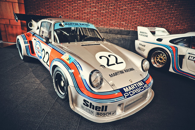 Porsche 911 RSR Turbo Martini