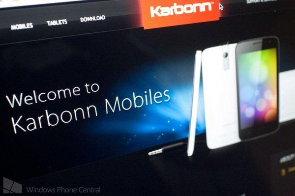 Смартфоны Karbonn