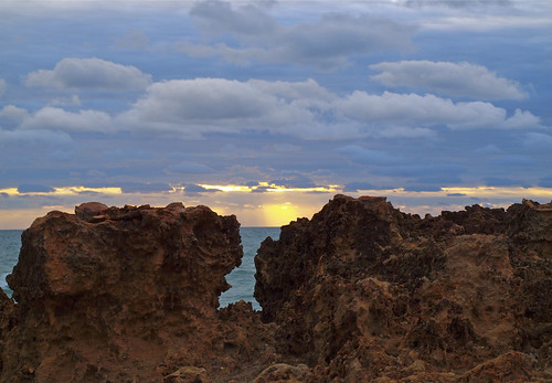 sun rocks day florida cloudy stuart rise atlanticocean hutchinsonisland
