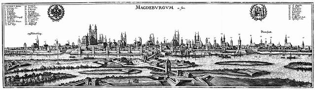 Matthaus Merian (1593-1650) - Magdeburg (c.1640)