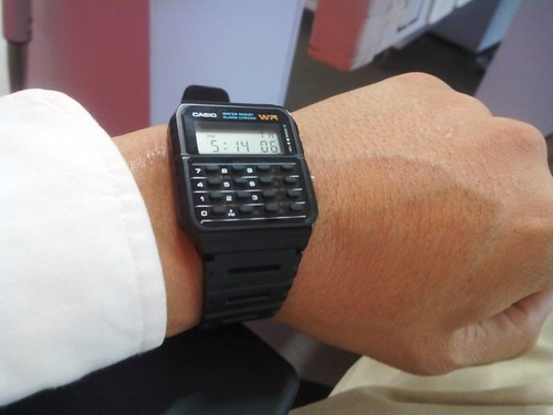 Calculator Watch Back to The Future Future Calculator Watch