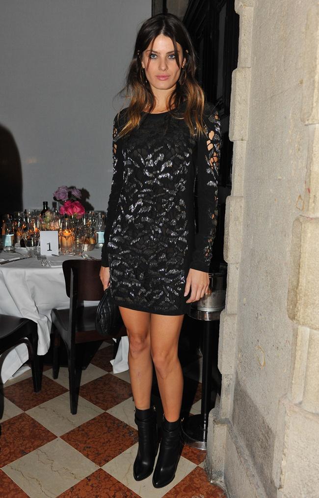 6 Isabeli Fontana in Roberto Cavalli @ Roberto Cavalli dinner 2014-02-22 Milan