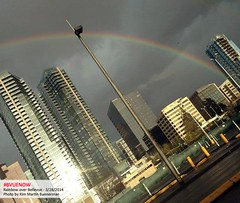 Bellevue rainbow - photo by kim martin bannerman | Bellevue.com