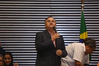 Lideranças discursam no 1º Encontro Estadual do Solidariedade-SP